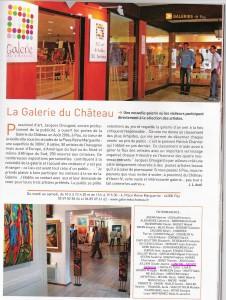 2008 Pau, galerie du chateau