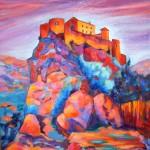 La citadelle de Corte - Huile