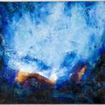Le grand bleu - Huile